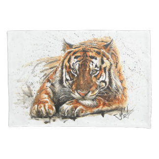 Tiger Kissen Bezug