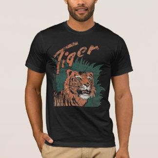 Tiger-Klempnerarbeit-Shirt - Vintag T-Shirt