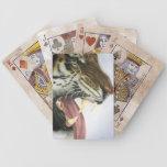 Tiger-Knurren-Spielkarten