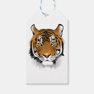 Tiger-Kopf-Druck-Entwurf Geschenkanhänger