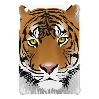 Tiger-Kopf-Druck-Entwurf iPad Mini Hülle