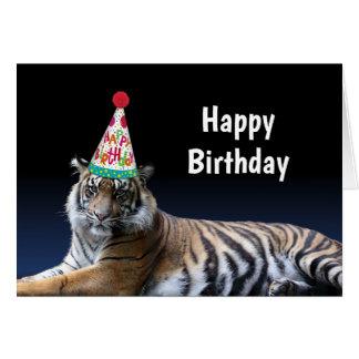 Tiger ließ uns Party-Geburtstag Karte