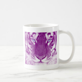 Tiger lila kaffeetasse