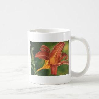 Tiger-Lilie Kaffeetasse