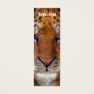 Tiger Mini Visitenkarte