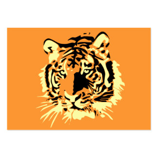 Tiger Mini-Visitenkarten