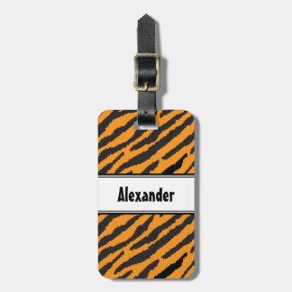 Tiger-Muster Kofferanhänger