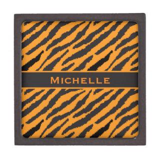 Tiger-Muster Schachtel
