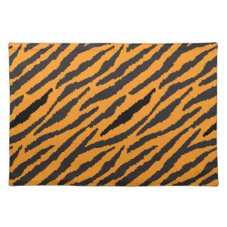 Tiger-Muster Stofftischset