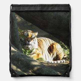 Tiger-Nickerchen Sportbeutel