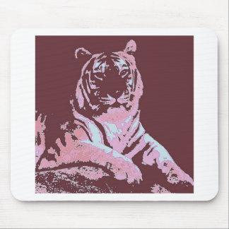 Tiger-Pop-Kunst Mauspad