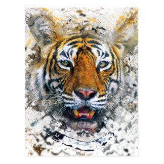 Tiger Postkarten