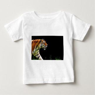 Tiger-Raubpelz-schöne gefährliche Katze Baby T-shirt