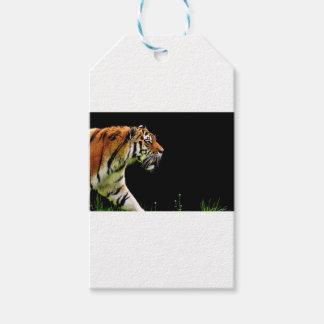 Tiger-Raubpelz-schöne gefährliche Katze Geschenkanhänger