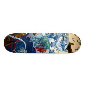 Tiger 18,1 Cm Old School Skateboard Deck
