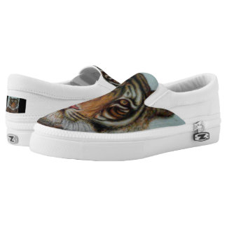 """Tiger "" Slip-On Sneaker"