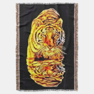 Tiger-Spiegel-Kunst Nouveau Wurfs-Decke Decke