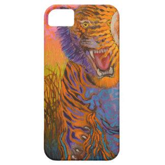 Tiger springen - wildes Tier Telefonkasten iPhone 5 Hülle