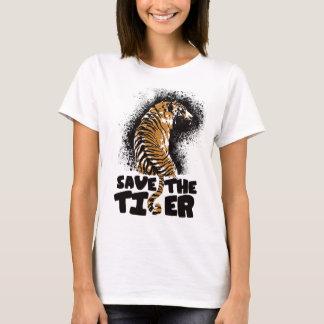 Tiger-Spritzer T-Shirt