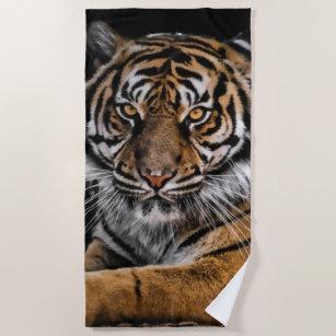 Tiger Strandtuch