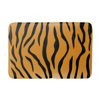 Tiger-Streifen Badematte