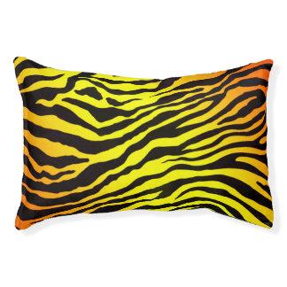 Tiger-Streifen Haustierbett