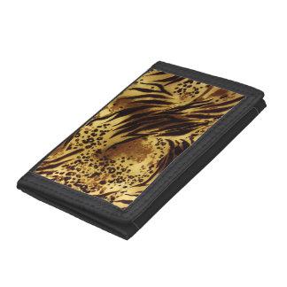 Tiger-Streifen-Safari-Druck-dreifachgefaltete