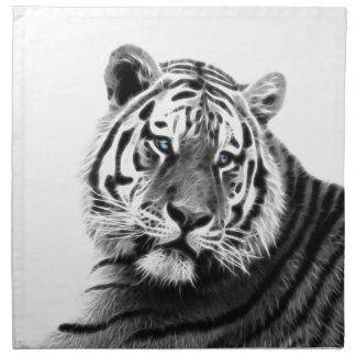 Tiger-Streifen Stoffserviette