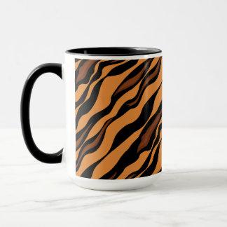 Tiger-Streifen-Tarnungs-Muster Tasse