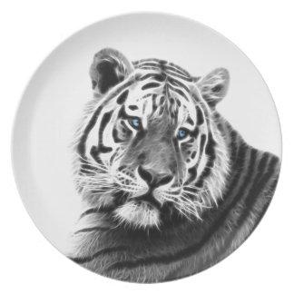 Tiger-Streifen Teller