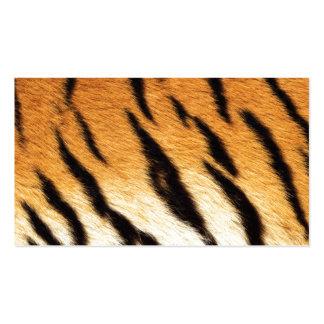 Tiger-Streifen Visitenkarten