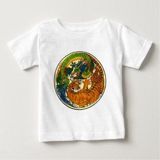 Tiger u. Drache Yin Yang Baby T-shirt