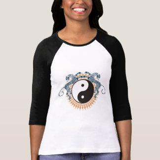 Tiger u. Yin Yang T - Shirt
