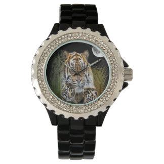 Tiger und CUB Armbanduhr