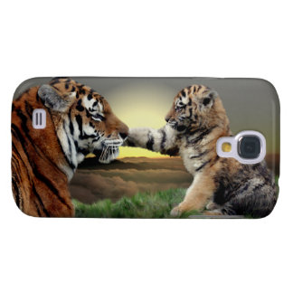 Tiger und CUB iPhone 3 Speck-Kasten Galaxy S4 Hülle