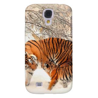 Tiger und Junges - Tiger Galaxy S4 Hülle