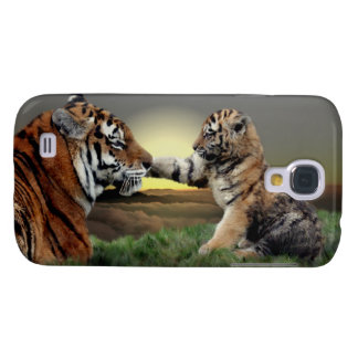 Tiger-und klarer Case-Mate-Fall CUBs HTC Galaxy S4 Hülle