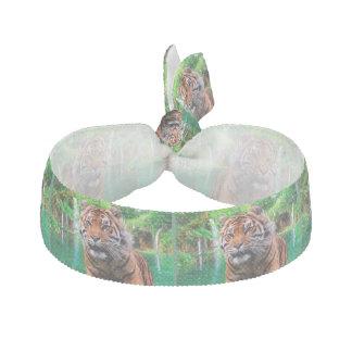 Tiger und Wasserfall Haarband