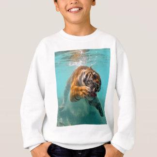 Tiger Unterwasser Sweatshirt