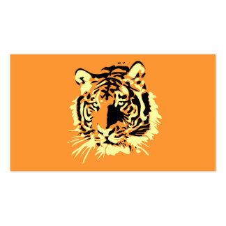 Tiger Visitenkartenvorlage