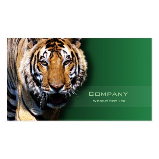 Tiger Visitenkartenvorlagen