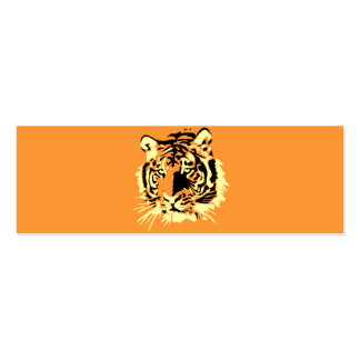 Tiger Jumbo-Visitenkarten