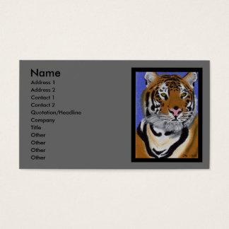 Tiger-Visitenkarte Visitenkarten