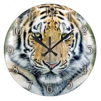 Tiger-Wanduhr Große Wanduhr