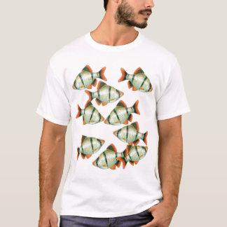 Tiger-Widerhaken-Aquarium-Fisch-T - Shirt