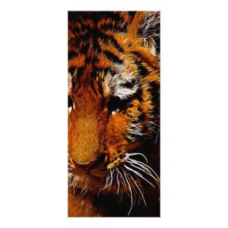 Tigeraugen Werbekarte