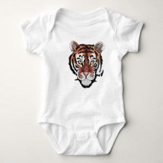 Tigerbaby-Strampler Hemden