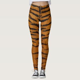 Tigerdruck Gamaschen Leggings