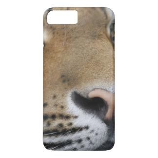 Tigerface Nahaufnahme iPhone 8 Plus/7 Plus Hülle
