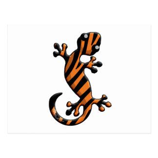 TigerGecko Postkarte